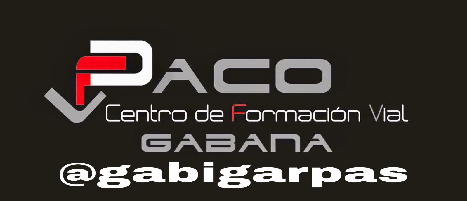 Logo Autoescuela Paco Gabana